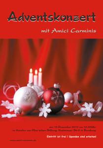 Weihnachtskonzert Amici Carminis